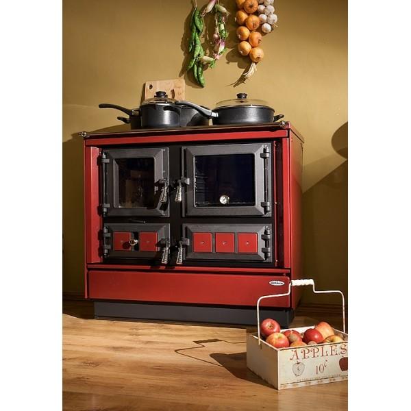 Cuisinière à bois Moravia 9112 EX avec bouilleur