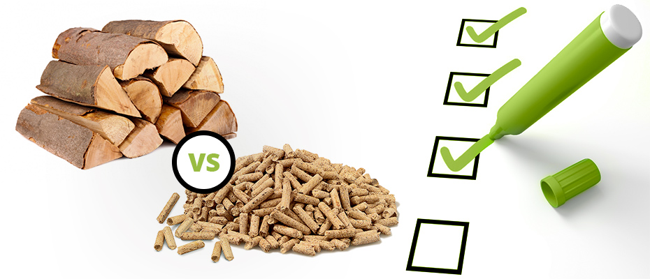 Bûches ou granulés ?