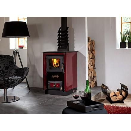 Cuisinière à bois Moravia 9114 - Bordeaux