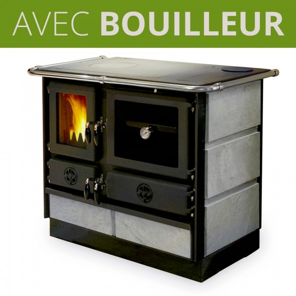 cuisin re bois avec bouilleur thermo magnum pierre ollaire. Black Bedroom Furniture Sets. Home Design Ideas