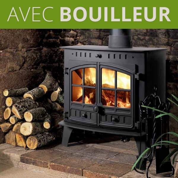Poele A Bois Bouilleur Hunter 80b