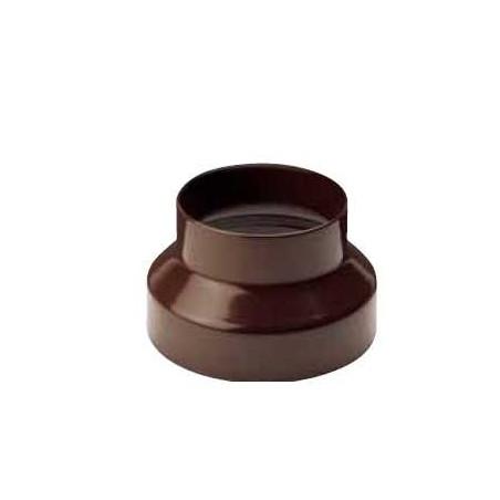 Réduction 125-120 noir pour tuyaux 120 mm