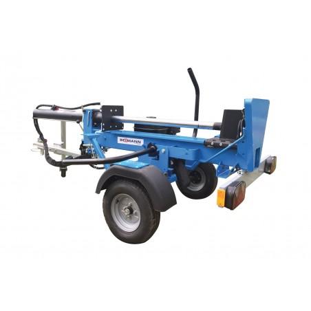 Fendeuse à bois thermique Bexmann 13T sur châssis route