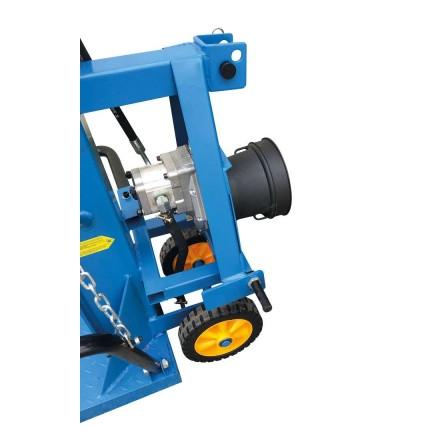 Fendeuse à bois Bexmann 10T sur PDF tracteur
