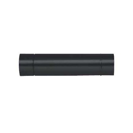 Tuyau fumée 120 mm noir 1m