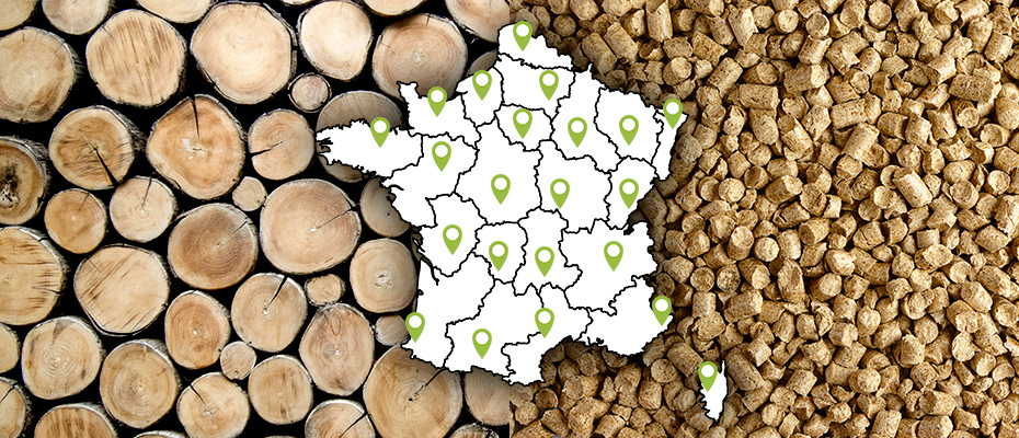 Distributeurs de bois en France